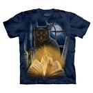【摩達客】(預購)美國進口The Mountain 迷惑貓 純棉環保短袖T恤(10416045091a)
