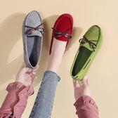 豆豆鞋豆豆單鞋女春秋鞋子平底2019新款韓版百搭一腳蹬女鞋夏季潮鞋 【5月驚喜】