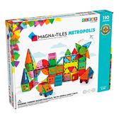 Magna-Tiles 都市磁力積木110片|磁性積木