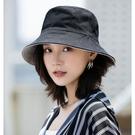 帽子女韓版漁夫帽網紅日系潮百搭遮陽防曬防紫外線太陽帽沙灘盆帽 快速出貨