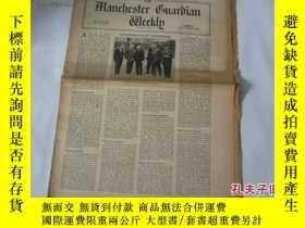 二手書博民逛書店外文原版報紙罕見THE MANCHESTER GUARDIAN WEEKLY 1948年10月14日 第16期 共