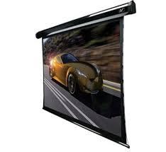 經典數位~億立 Elite Screens 92吋 16:9 頂級弧形張力電動幕-4K劇院雪白 TE92HW2-E30