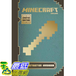 [104美國直購] 當個創世神 Minecraft: Construction Handbook (Updated Edition): An Official Mojang Book Hardcover