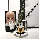 創意設計師款紙巾盒莎士比亞抽紙盒搞笑紙巾收納 概念3C旗艦店