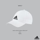 IMPACT Adidas 6 Panel Climalite Cap 白 黑 老帽 棒球帽 三線條 灣沿帽 情侶 男女可戴 S98150