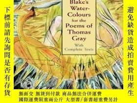 二手書博民逛書店Blake s罕見Water-colours For The Poems Of Thomas GrayY256