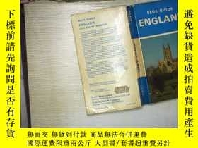 二手書博民逛書店Blue罕見Guide England(01)Y180897 不