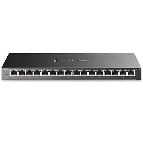 TP-LINK TL-SG116E 16埠Gigabit簡易智慧型交換器