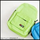 129元加購-OAB*原宿風格馬卡龍色學院後背包【200-AT】06070399-果綠色