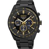 【僾瑪精品】SEIKO Criteria 精工限量 太陽能叱吒風雲三眼計時腕錶-42mm/V175-0DL0K/SSC473P1