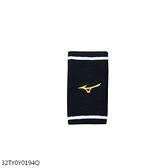 Mizuno Wristband [32TY0Y0194Q] 護腕 毛巾 吸汗 運動 訓練 跳舞 1入 15cm 黑黃