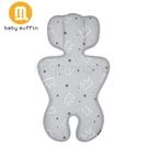 baby muffin 推車汽座兩用3D透氣墊/ 涼墊(皇家銀冠)[衛立兒生活館]