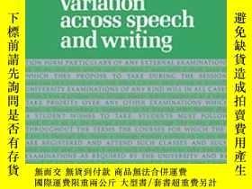 二手書博民逛書店Variation罕見Across Speech And WritingY255562 Douglas Bib