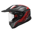 【東門城】ASTONE MX800 BF7 (平光黑/紅) 全罩式安全帽 多功能 快拆式帽舌