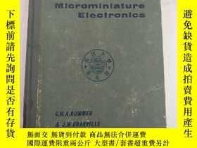 二手書博民逛書店miniature罕見and microminiature el