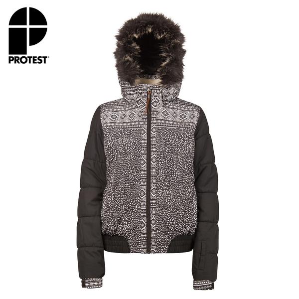 PROTEST 女 機能防水保暖外套 (貝殼白) IVANA SNOWJACKET