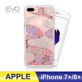 iPhone 7/8 Plus 7+ 8+ 手機殼 奧地利水鑽 立體彩繪 空壓殼 彩鑽 手工貼鑽 防摔殼 多鑽版 - 櫻花遍地