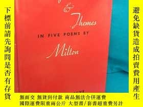 二手書博民逛書店Images罕見and Themes in Five Poems