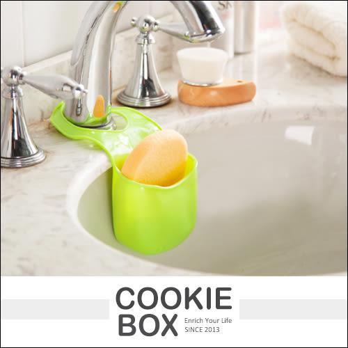 創意 廚房 水槽 置物架 收納架 吊掛式 浴室 衛浴 瀝水 菜瓜布 海綿 置物籃(隨機出貨)*餅乾盒子*