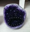 一物一圖產地直銷天然紫水晶簇極美晶簇紫晶洞塊原石消磁防輻射 初色家居館