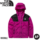 【The North Face 女 防風外套《紫》】4973/薄外套/春夏外套/防潑水/防曬/防風外套