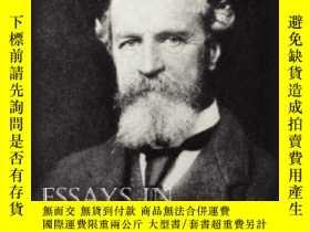 二手書博民逛書店Essays罕見In Radical EmpiricismY364682 William James Bott