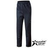PolarStar 女 針織保暖運動長褲『黑藍』P19402 戶外│休閒│登山│運動│刷毛│彈性│保暖│禦寒