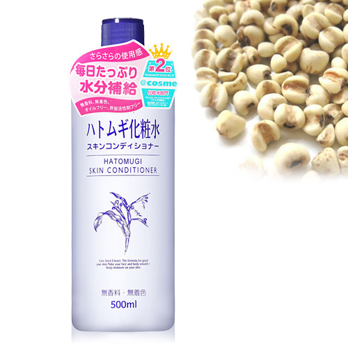 imju 薏仁清潤化妝水  濕敷型  500ml【UR8D】