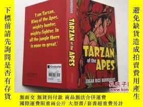 二手書博民逛書店Tarzan罕見of the Apes 人猿泰山電影小說 精裝Y