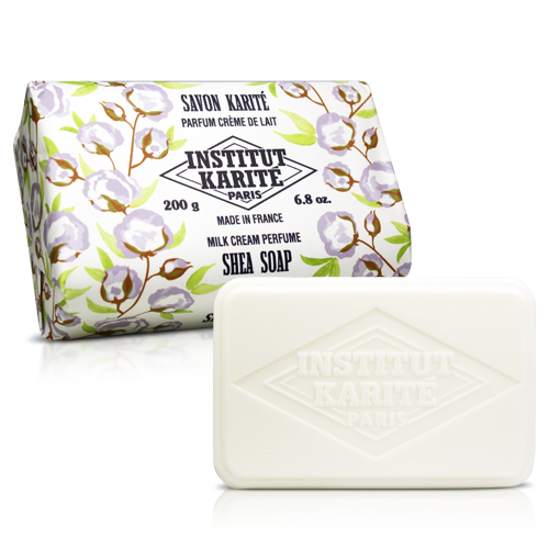 Institut Karite Paris 巴黎乳油木 牛奶乳霜花園香氛手工皂(200g)【ZZshopping購物網】