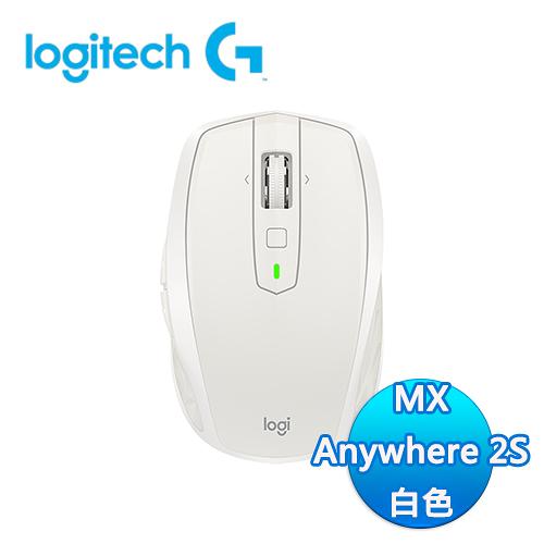 Logitech 羅技 MX ANYWHERE 2S 無線行動滑鼠 - 白色
