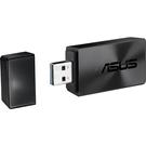 【免運費】ASUS 華碩 USB-AC55 B1 802.11ac AC1300 雙頻 無線網路卡(Wi-Fi) / 5 GHz/2.4 GHz / USB 3.0