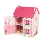 【法國Janod】Doll's House-粉夢幻娃娃屋-快樂家庭人偶 J06581