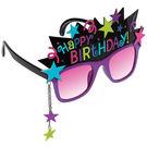 生日快樂眼鏡1入-黑