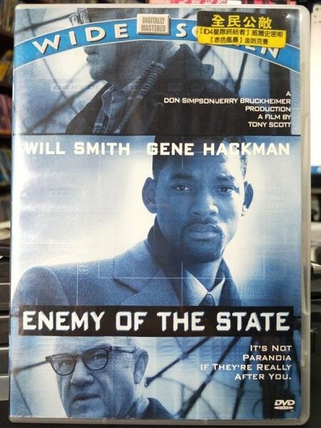 挖寶二手片-0B01-276-正版DVD-電影【全民公敵】-地球過後-威爾史密斯*失控的陪審團-金哈克曼(直購