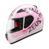 ZEUS 瑞獅安全帽,全罩安全帽,ZS-2000C,zs2000C,F60/白粉