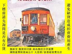 二手書博民逛書店The罕見Lake Shore Electric Railway