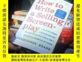 二手書博民逛書店how罕見to write a selling screen-p