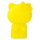 【震撼精品百貨】Hello Kitty 凱蒂貓~KITTY造型立體多功能筆袋/鉛筆盒-黃全身#46306