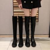 長靴女過膝新款ins網紅瘦瘦靴秋冬彈力襪靴子顯瘦厚底長筒靴   蘑菇街小屋