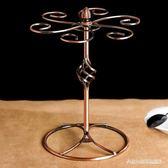 歐式復古紅酒杯架擺件 創意掛6只倒掛  BS21378『科炫3C』TW