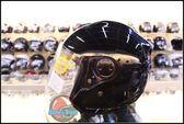 [中壢安信] LUBRO RACE TECH 2 外銷日本版 黑色  半罩式安全帽 安全帽