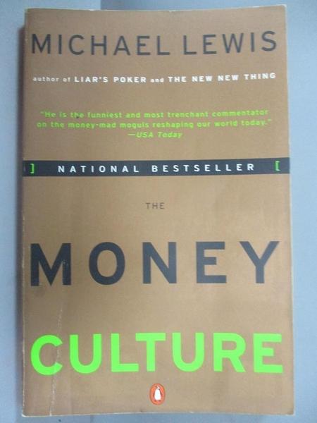 【書寶二手書T7/歷史_CYG】The Money Culture_Lewis, Michael