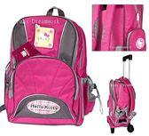 【卡漫城】】Hello Kitty 拉桿 書包 庫存一個 ㊣版 可分離式  行李箱 登機箱 後背包