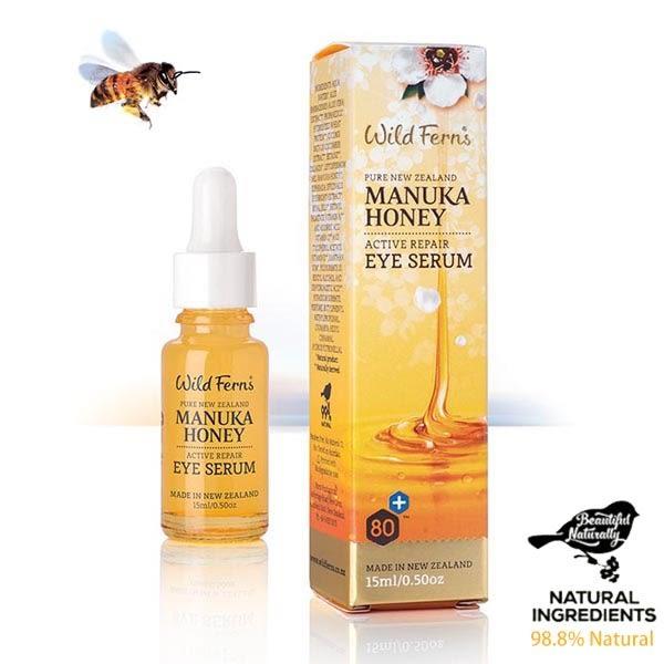 麥蘆卡蜂蜜眼周修護精華液15ml Wild Ferns