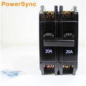 群加 Powersync 亞迪無熔絲開關2P/20A (BH2P-20)