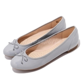 Clarks 低跟鞋 Couture Bloom 灰 娃娃鞋 低跟鞋 淑女鞋 真皮鞋面 女鞋 【PUMP306】 CLF39292SD19