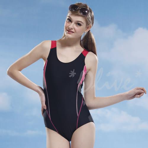 ☆小薇的店☆泳之美品牌【亮色流線款】時尚三角連身泳裝特價750元 NO.2139(M-XL)
