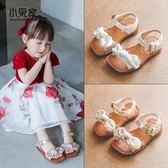 兒童涼鞋女公主鞋蝴蝶結女童涼鞋寶寶鞋子