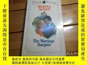 二手書博民逛書店THE罕見MARTIAGE BARGAIN 婚姻討價還價Y198